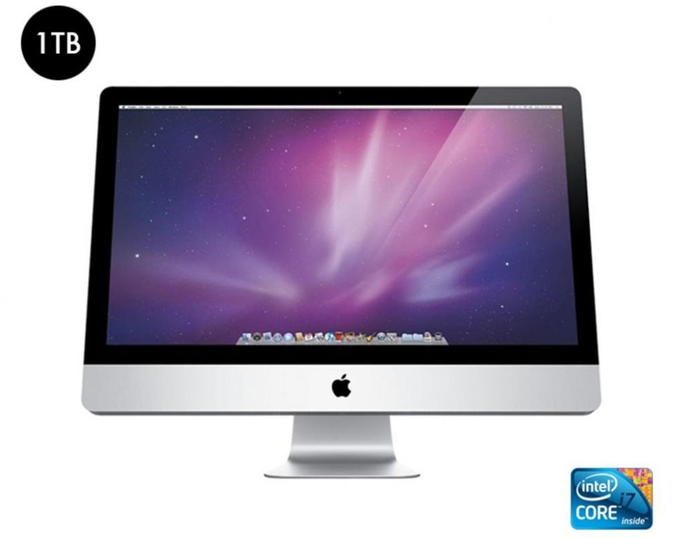 Apple imac 27 inch all in one intel core i7 desktop computer refurbished - Computer desk for imac inch ...