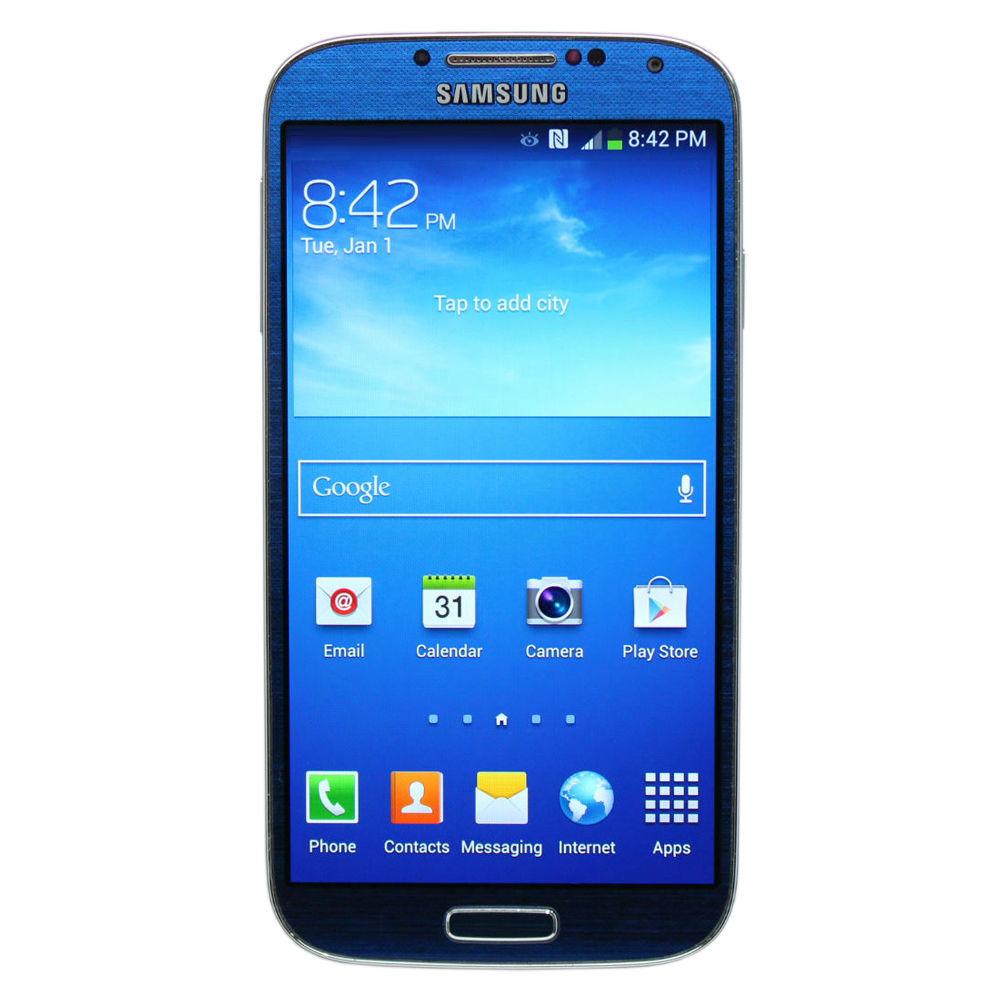 samsung galaxy s4 16gb gsm unlocked smartphone refurbished. Black Bedroom Furniture Sets. Home Design Ideas