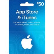 Apple $50 iTunes Gift Card in $40
