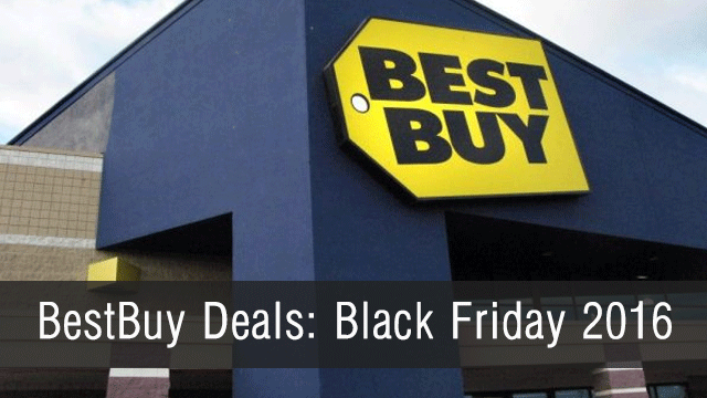 Black Friday 2016: BestBuy Deals From Black Friday AD