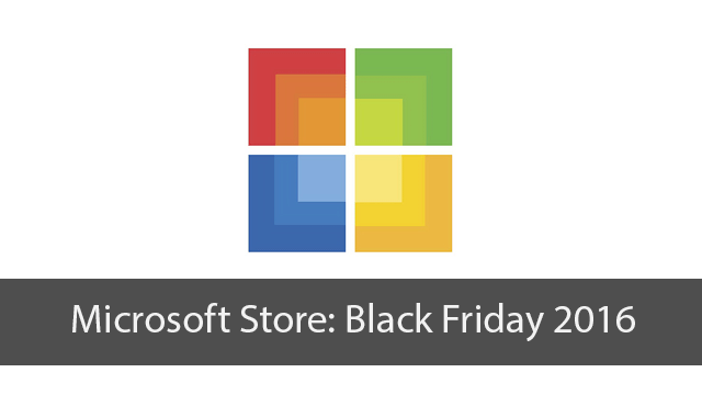 Microsoft Store Black Friday Sale Preview