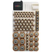 Range Kleen Battery Organizer with Removable Tester