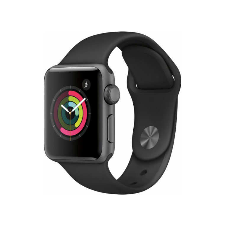 Apple Watch Series 2 42mm Space Gray Aluminum Case Black