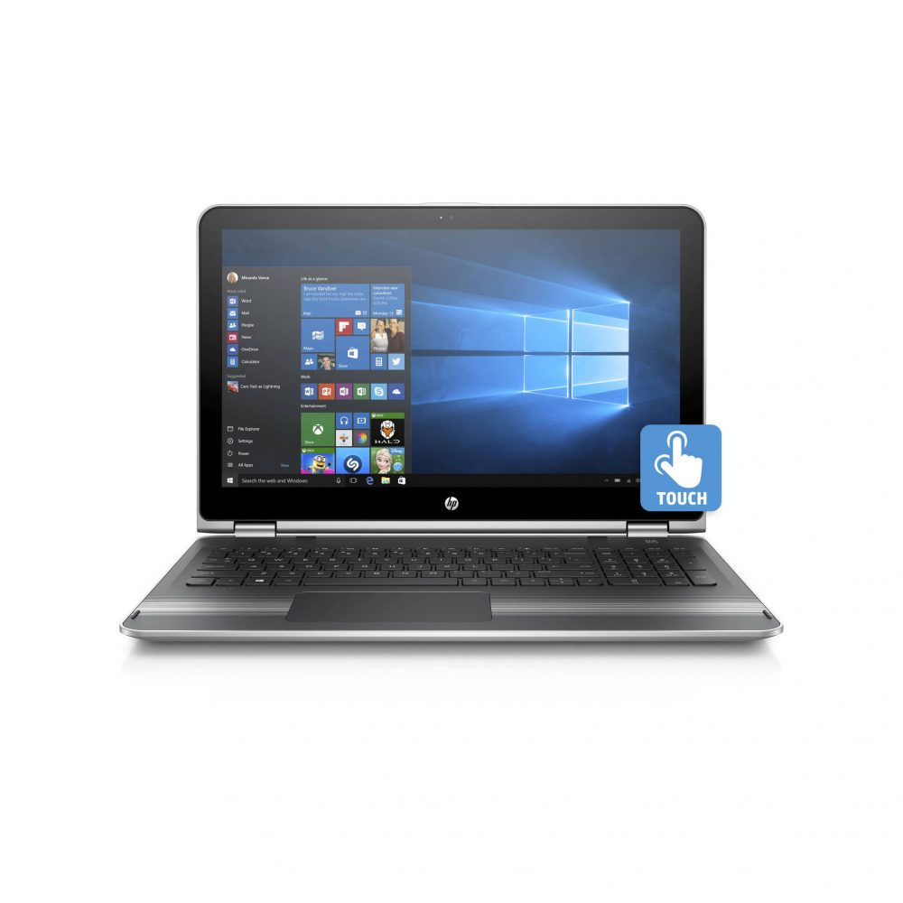 hp pavilion 15 6 inch intel core i5 6200u refurbished laptop. Black Bedroom Furniture Sets. Home Design Ideas
