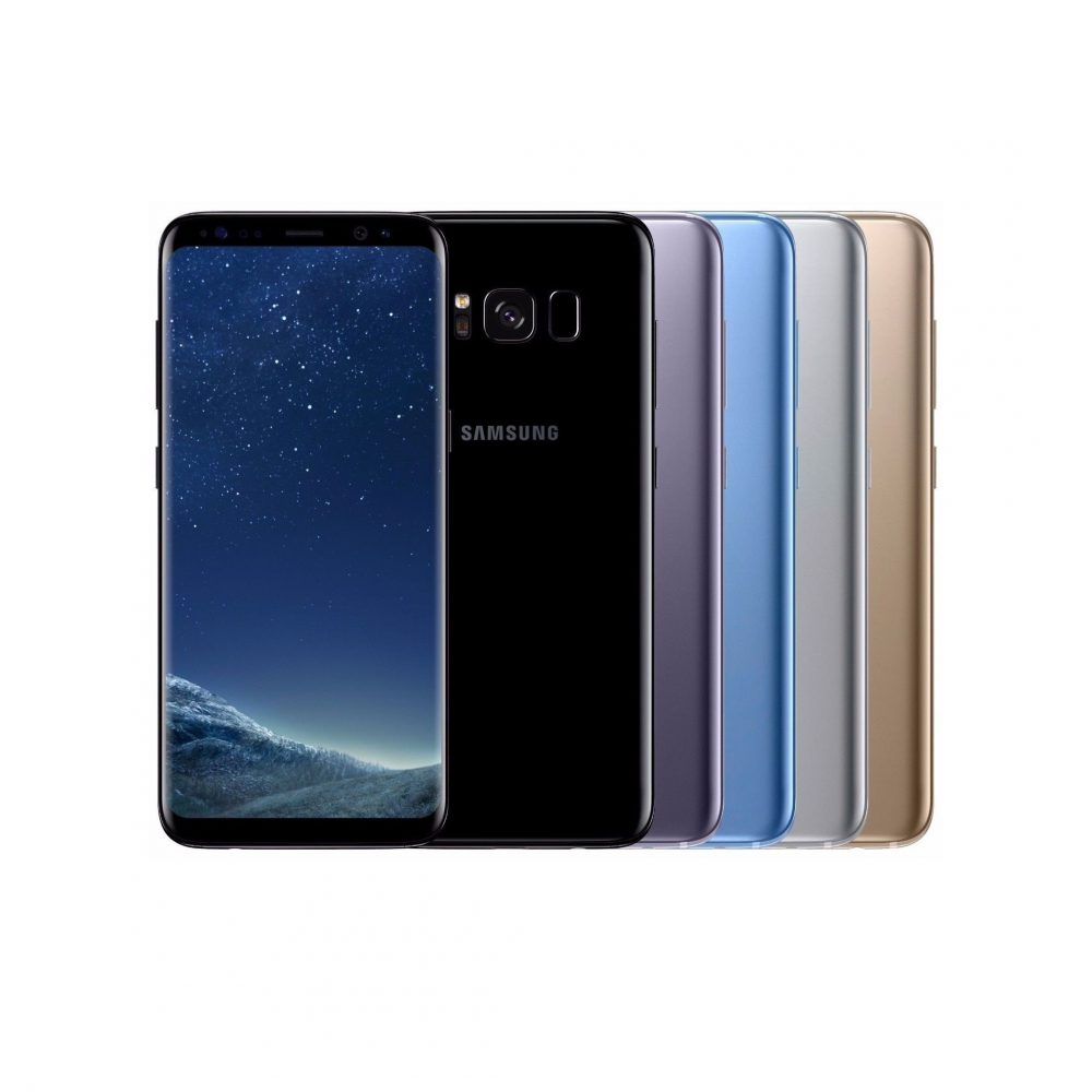 samsung galaxy s8 dual sim factory unlocked 64gb smartphone. Black Bedroom Furniture Sets. Home Design Ideas