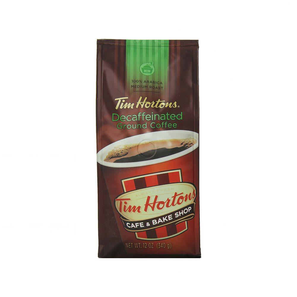 Tim Horton's 100% Arabica Medium Roast Decaffeinated ...