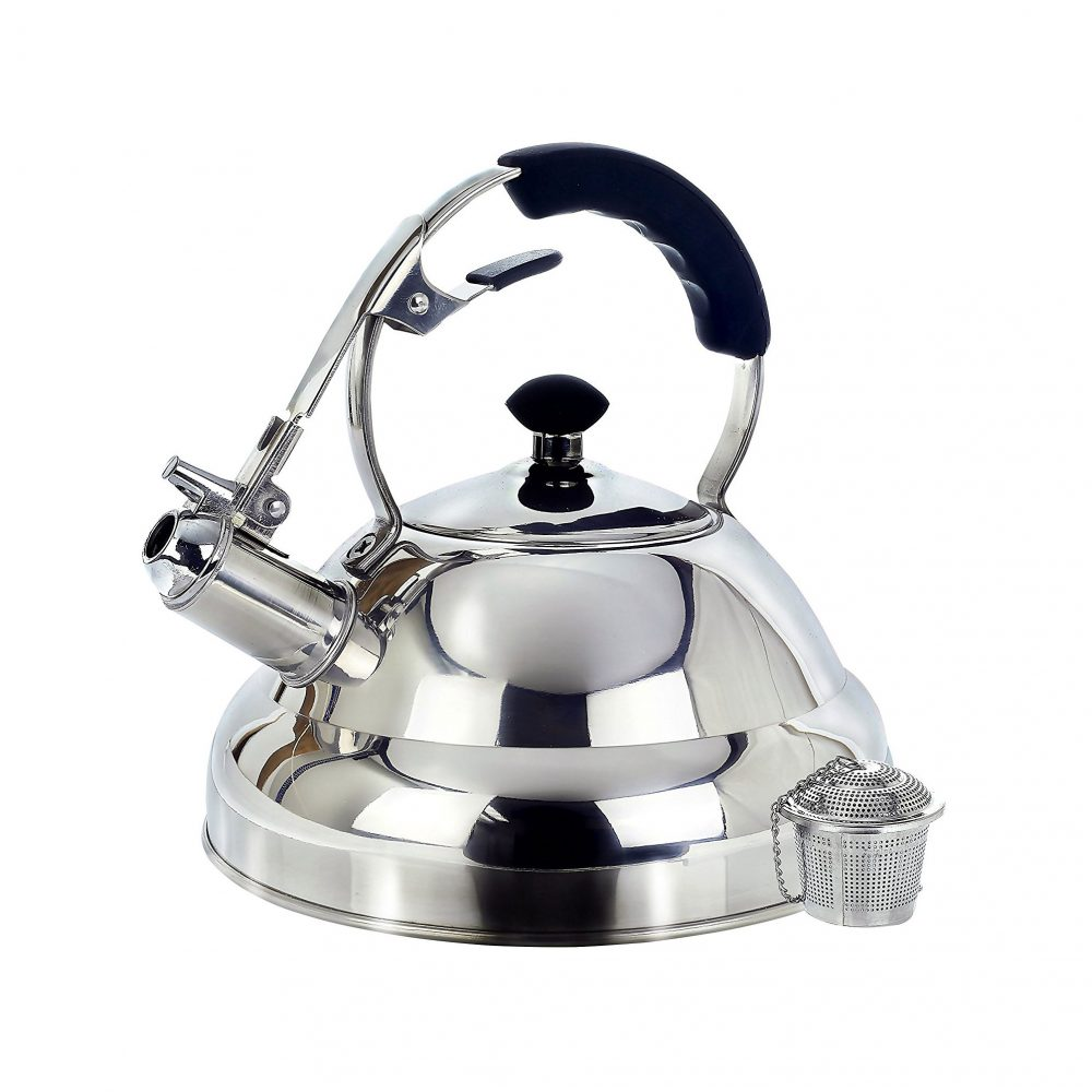 Willow & Everett Surgical Whistling Stove Top Kettle Teapot