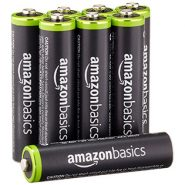 AmazonBasics AAA Rechargeable Batteries – 8 Pack