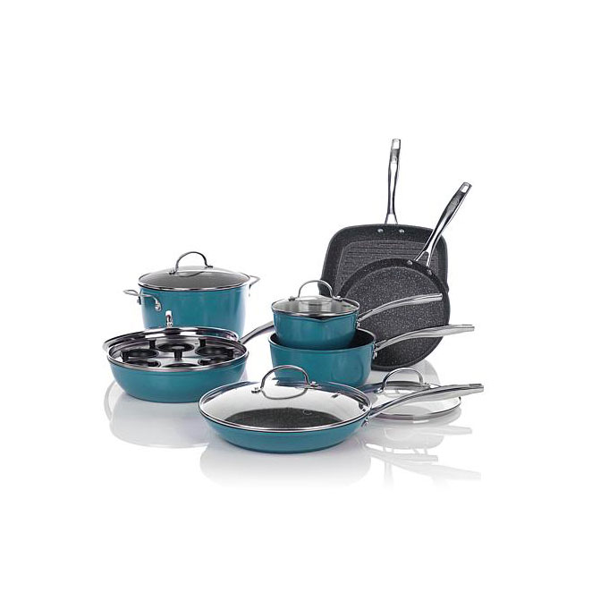 Curtis Stone Dura-Pan Nonstick Cookware Set