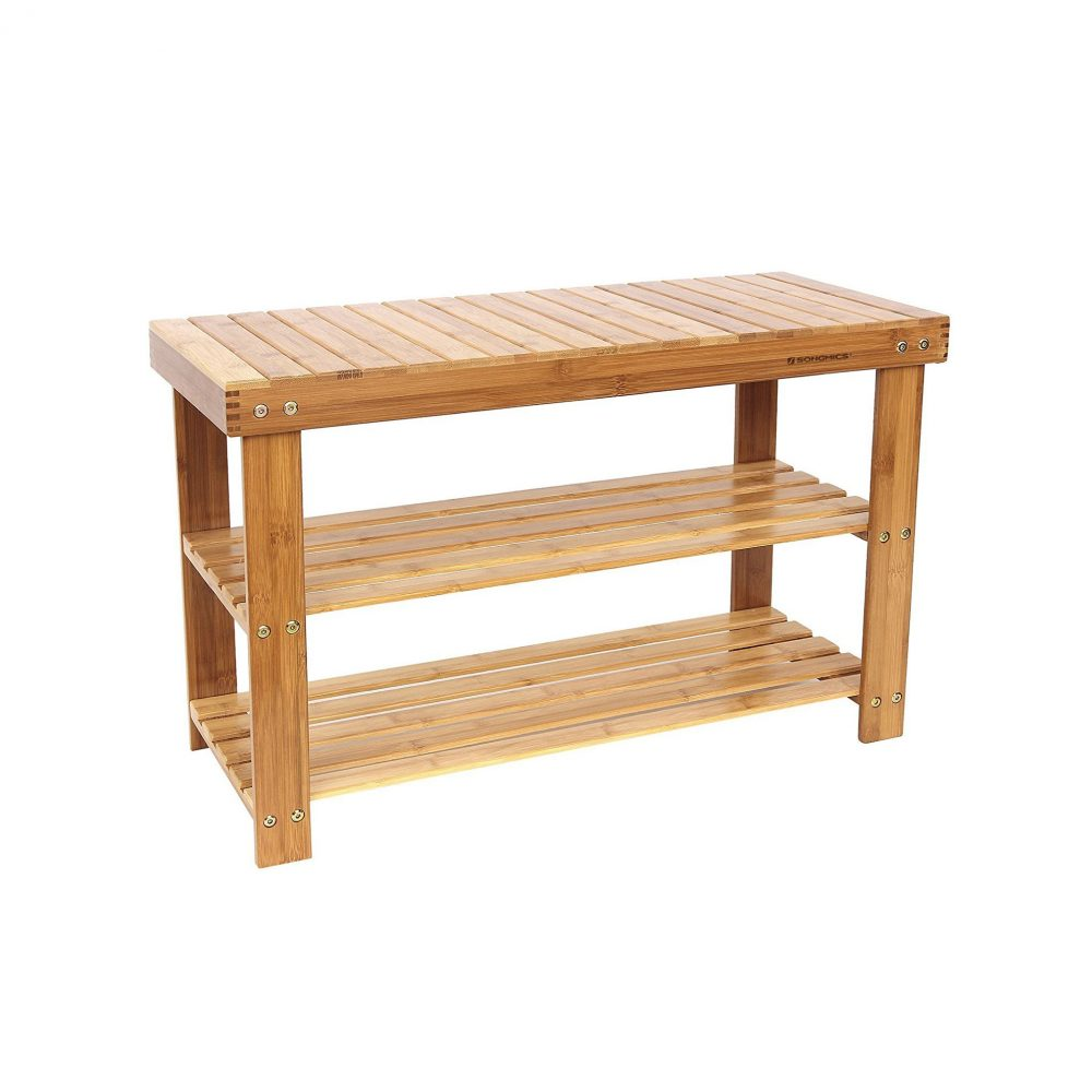 Bamboo Shoe Rack Bench 28 Images Lushea Bamboo Shoe Rack Bench Isshoe Singapore Sobuy 100