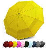 EEZ-Y Compact Travel Umbrella with Windproof Double Canopy