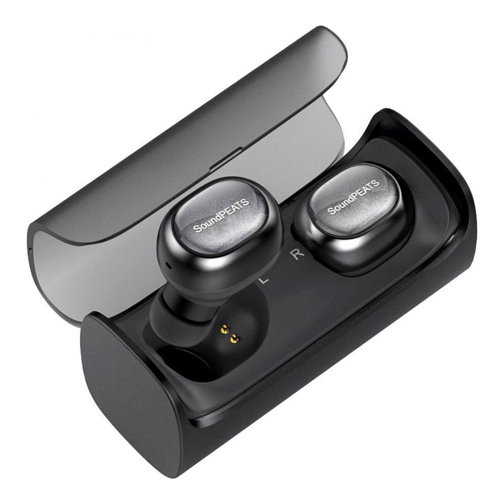 soundpeats true wireless stereo bluetooth 4 1 headphones. Black Bedroom Furniture Sets. Home Design Ideas