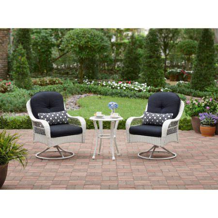 Better Homes And Garden Azalea Ridge Woven Bistro Set 3 Pcs