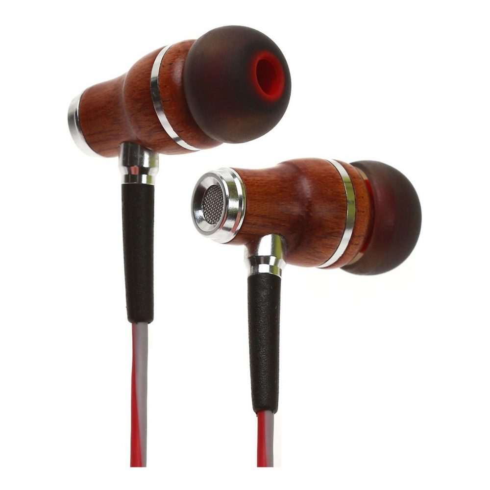 Symphonized NRG 3.0 Wood In-Ear Headphones with Mic & Control