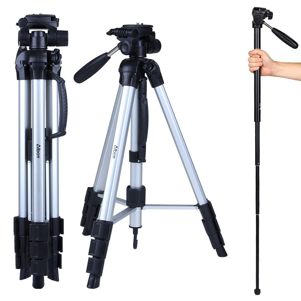 Albott 70 Inch Travel Portable Dslr Camera Tripod Monopod