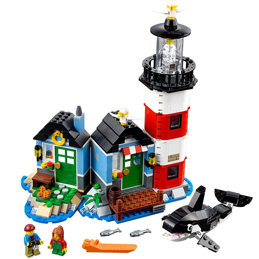 Lego Building Toys : Lego creator lighthouse point building toy set