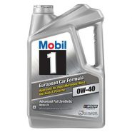 Mobil 1 Synthetic Motor Oil 0W-40 – 5 qt