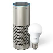 Amazon Echo Plus – Silver + Philips Hue Bulb