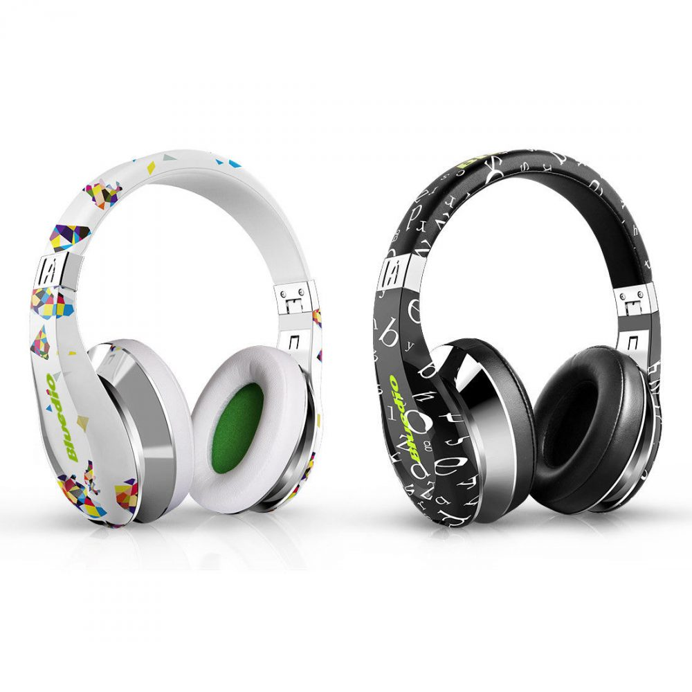 4 Bluetooth Wireless Headsets With The Best Sound Quality: Bluedio A-Air Bluetooth 4.1v Stereo Wireless Headset With Mic