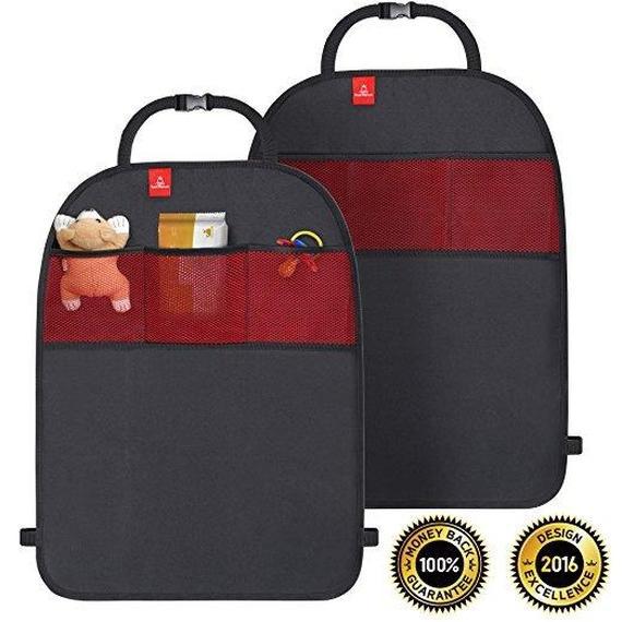 royal rascals car seat kick mat protector 2 pack. Black Bedroom Furniture Sets. Home Design Ideas