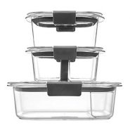 Rubbermaid Leak-Proof Brilliance Food Storage Container – 10 Pcs