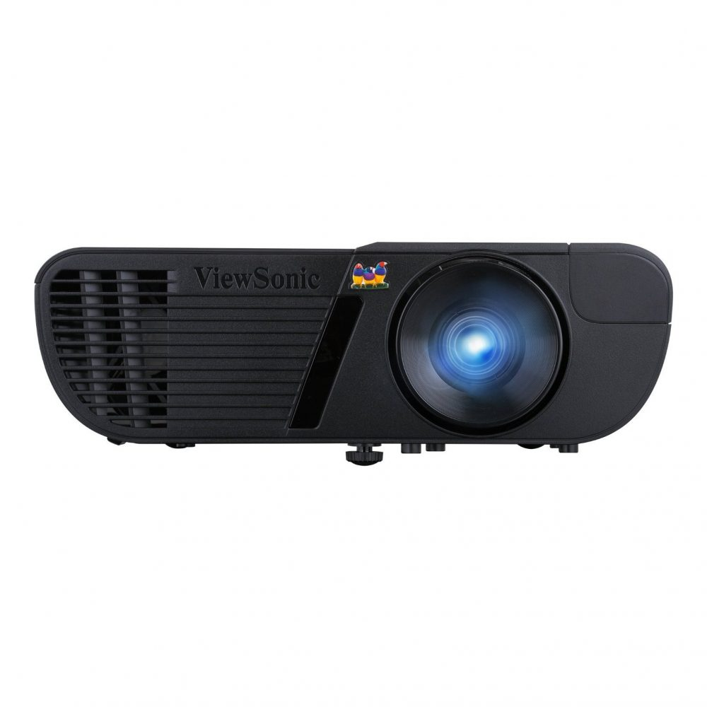 Hd Projector Full Color 720p 2400 Lumens Digital Tv Single: ViewSonic Pro7827HD 1080p HDMI Home Theater Projector