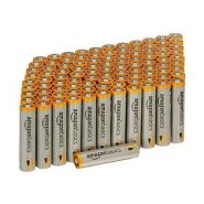 AmazonBasics 100-Pack AAA Performance Alkaline Batteries