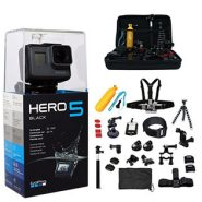 GoPro HERO5 Black + 64GB + 45 Accessories