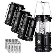 Etekcity Portable Outdoor LED Camping Lantern – Pack of 4