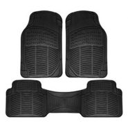 Floor Mats for SUVs Trucks Vans – 3pc Set