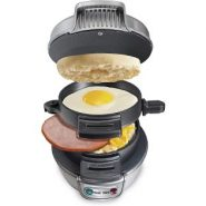 Hamilton Beach Breakfast Sandwich Maker – Gray