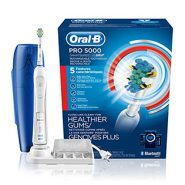 Oral-B Pro 5000 SmartSeries Rechargeable Electric Toothbrush by Braun