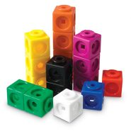 Learning Resources Mathlink Cubes, Educational Counting Toy – 100 Cubes