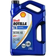 Shell Rotella T6 5W-40 Full Synthetic Diesel Engine Oil – Gallon