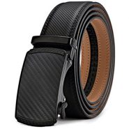 Bulliant Slide Ratchet Belt with Genuine Leather – Men