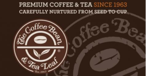 $25 Coffee Bean and Tea Leaf gift card