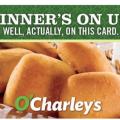 $50 O'Charley's gift card