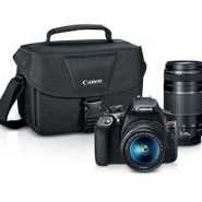 Canon EOS Rebel T6 DSLR Camera Kit with 2 Lens + Pro-100 Printer