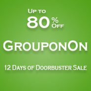 Groupon: Up to 80% Off 12 Days of Doorbusters Sale