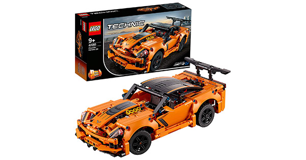lego technic chevrolet corvette zr1 building kit. Black Bedroom Furniture Sets. Home Design Ideas