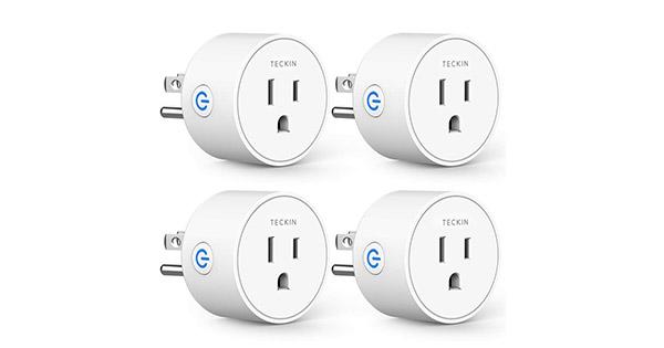 TECKIN Mini Smart Plug - 4 Pack