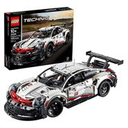 LEGO Technic Porsche 911 RSR Race Car Building Set – 1580 Pcs