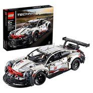 LEGO Technic Porsche 911 RSR Race Car Building Set – 1580 Pcs