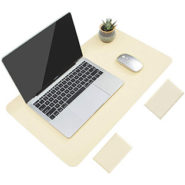YSAGi Non-Slip Waterproof PVC Leather Mouse Pad